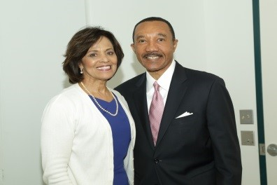 Dr. Yvonne T. Maddox and The Honorable Kweisi Mfume